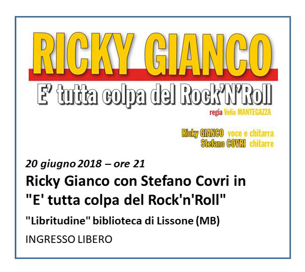 Spettacolo Ricky Lissone 20.06.2018 - 3 RIT