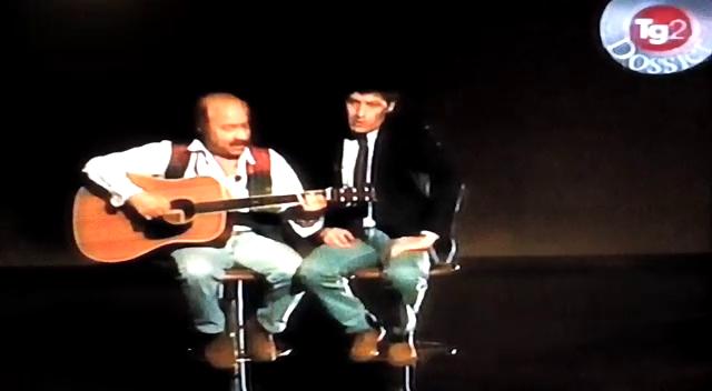 Ricky con Enrico Curti