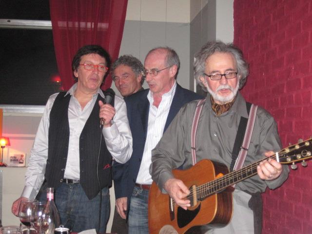"Enrico, Marco, Angelo e Francesco al ""Festeggianco"" - Febbraio 2013"
