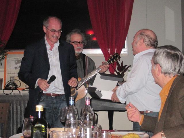 """Angelo e Francesco con Ricky al """"Festeggianco"""" - Febbraio 2013"""