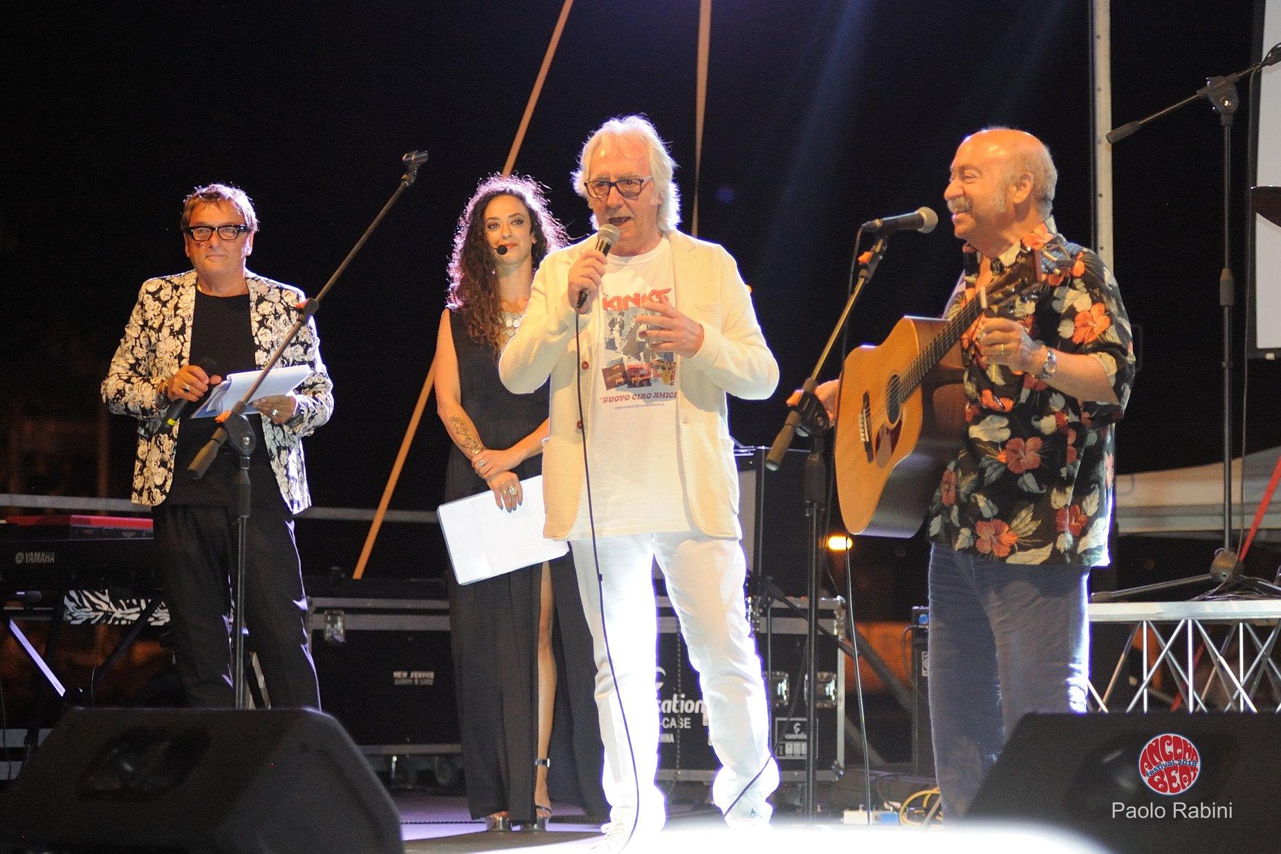 Ricky all'Ancona Festival 2018 presentato da Claudio Scarpa
